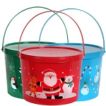 Christmas Bath Salt Gift Bucket