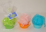 Bath Puff - Cupcake Soap Gift Set