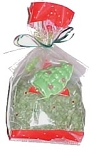 Christmas Tree Bath Salt / Soap Gift Bag