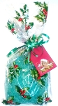 Christmas Holly Bath Salt Gift Bag