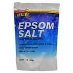 Relief Epsom Salt: 1 lb bag
