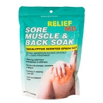 Relief Sore Muscle & Back Soak: 1 lb bag