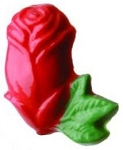 Two Color Rose Bud Soap