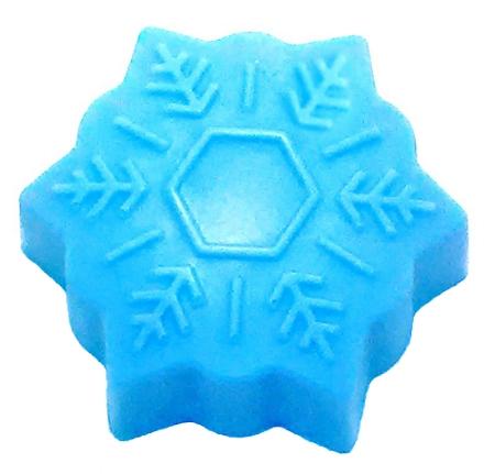 Snowflake Soap Bar 2