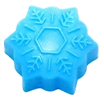 Snowflake Soap Bar #2