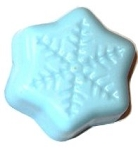 Snowflake Soap Bar
