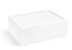 Premium Ultra White MP Soap Base - 2 lb Tray