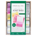 Soap Making DIY Soap Bars Kit: Citrus Sunrise