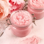 Aromatherapy Sea Salt Body Scrub: 8oz Jar