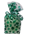 St. Patricks Day Shamrock Bath Salts Gift Bag