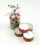 Tea Light Candles Christmas Gift 4 Pack