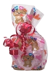 Valentine's Day Teddy Bear Bath Salts Gift Bag