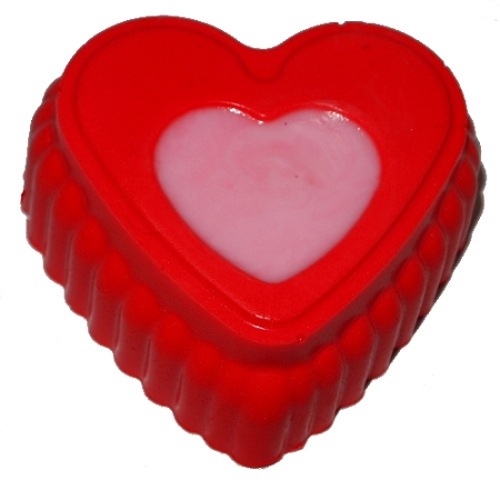 Two Toned Heart Soap Bar