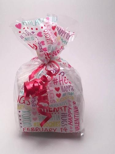 Valentine S Day Bath Salts Gift Bag