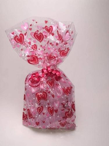 Valentine S Day Hearts Bath Salts Gift Bag
