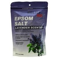 Relief Lavender Epsom Salt: 1 lb bag