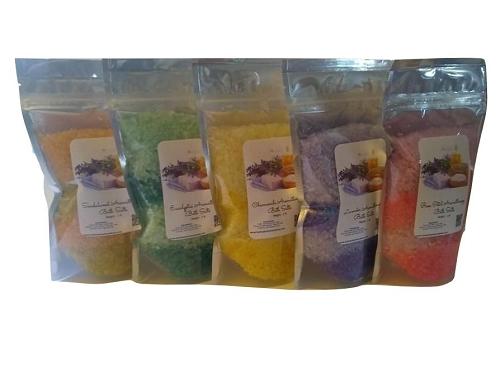 Aromatherapy Bath Salts Gift Set