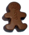 Gingerbread Man Scented Soap Bar #2