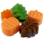 Fall Pumpkin & Leaf Soap Bar Set