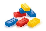 Lego Block Soap 10 Pack