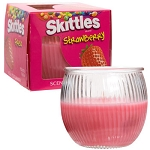 Skittles Strawberry-Scented Jar Candle, 3 oz.