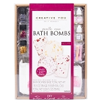 Bath Bombs DIY Kit: Gentle Rose