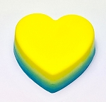Heart Soap Bar (Three color) #3