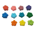 Mini Flowers Soap Favors - 25 Soaps