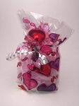 Valentine's Day Hearts Bath Salts Gift Bag