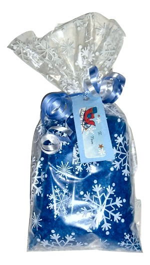 Snowflake Bath Salt Gift Bag