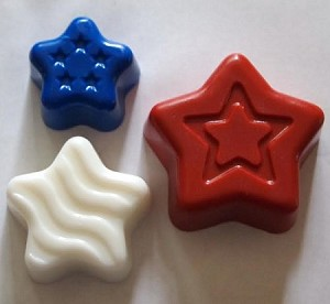 Patriotic Star Soap Set